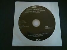 Dell Drivers and Utilities Resource Media CD/DVD OptiPlex Insprion Dimension