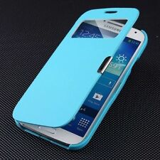 Window View Magnetic Flip Leather Smart Case Cover For Samsung Galaxy S4 I9500