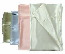100% Mulberry Silk Charmeuse Pillowcases in VALUE pair pack - 4 colors available