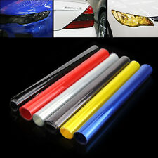 Auto Car Smoke Fog Light Headlight Taillight Tint Vinyl Film Sheet Sticker New