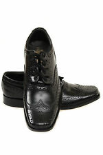 Fashion Ghillie Brogues, Scottish Leather Kilt Shoes - Sizes 6.5 to 11