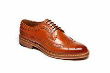 Mens Catesby 1455 Tan All Leather Goodyear Welted Sole Brogue Shoes UK 7 - 12