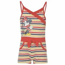 ENGLAND DISNEY MINNIE MOUSE JUMPSUIT PLAYSUIT SOMMER OVERALL ANZUG 92 - 116