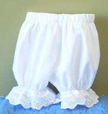 NWOT Baby Girl Eyelet Lace Edged Baby Knickers Bloomers