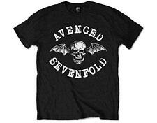 OFFICIAL LICENSED - AVENGED SEVENFOLD - CLASSIC DEATHBAT T SHIRT METAL