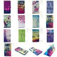 Charming Fashion Flip Stand Hybrid Wallet Leather Card Case Cover  For Samsung