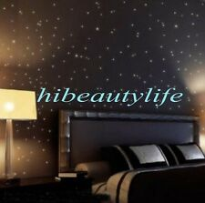 100Pcs,Wall Stickers Home Decor Glow In The Dark Star sticker Decal Kids room ^