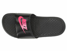 NIB Nike Kids Benassi JDI Kids Sandals Slides Flip flops Pink  11 12 13 1 Youth