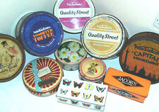 VINTAGE QUALITY STREET TINS ~ click HERE to browse the menu