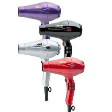 PARLUX 3800- CERAMIC IONIC HAIR DRYER-MADE IN ITALY-5 COLORS OFFERED
