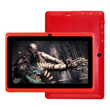 "7"" Google Android 4.4 Quad-Core Touch-Screen Tablet PC Dual Camera 8GB Bluetooth"
