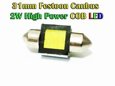 31mm Festoon COB SMD LED Light Bulbs 12V 24V Car Auto Boat Motobike White