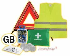Selection of Universal Break Down European Travel Safety Kit Items - Must Have