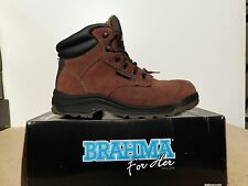 Brahma Women's Diane Leather Work Boots - 0413M