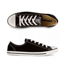 CONVERSE Chuck Taylor All Star Dainty CANVAS Lo Shoe Black WOMENS US SIZES