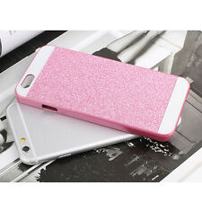Fashion Luxury Hard Plastic Back Case Bling Glitter Cover For iPhone 4/5/6/Plus