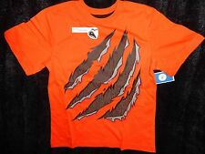 CIRCO BOYS MONSTER CLAW MARK HALLOWEEN T-SHIRTS ORANGE NWT SM 6/7 & L 12/14
