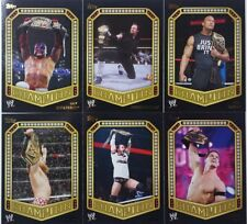 WWW 2014 CHAMPION CARD insert SINGLES / 30  $1.99 each CHOOSE