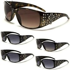 Western Rhinestone Diamond Women Sunglasses Cross Stone Cowgirl Designer Glasses