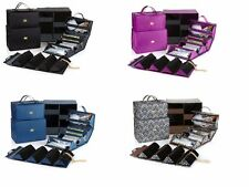 Joy Mangano Biggest Better Beauty Case Set with Storage Cube NEW Choose Color