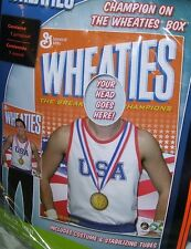 Adult WHEATIES CEREAL BOX CHAMPION Costume – Mens One Size Fits Most NEW!