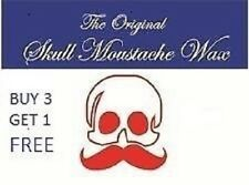Moustache Wax...4  Fragrances.....Sandelwood....Musk...SevenSeas...and  Natrual