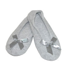 New totes ISOTONER Womens Terry Classic Ballerina Slippers
