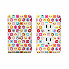 Happy Julius Design Decor Home Room Light Switch Wall Face Plate Cover