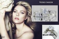 Love Diamond Ring Wedding Ring Engagement Ring Made in Italy d g  808