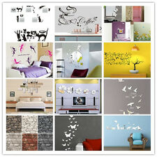Family DIY Quote Removable Art Wall Sticker Mirror Decal Mural Home Kids Decor A