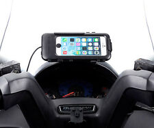 Moped Scooter 3M Small Adhesive Mount + Waterproof Case for Apple iPhone 6 4.7