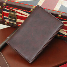 Simple Fashion Genuine Leather Pasport Holder PassPort Cover Case Travel Wallets