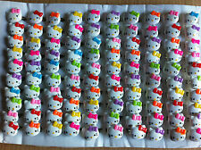 Hello KITTY mix couleur Kids redimensionnable Anneaux Acrylique-job lot sac de fête charges #