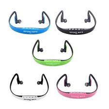Sport Wireless Headset Headphone Earphone MP3 Music Player TF FM Radio NEW