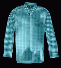 Timberland Men's Earthkeepers Long Sleeve Green Checks Cotton Shirt Style #3119J
