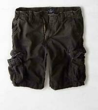 American Eagle Outfitters NWT Coal Grey Cargo Shorts Short 35 36 38 40 42 44
