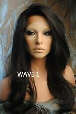 Glueless Malaysian Lace Front  / Full lace wigs  human   Remy    Hair    wave