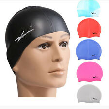 Durable Flexible Sporty Latex Swimming Swim Cap Bathing Hat Unise Colors NEW