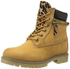BRONX YIPPY ZIPPY COMBAT LACE UP CONSTRUCTION MILITARY ANKLE TIMBERLAND BOOTS
