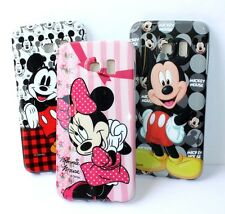 For Samsung Galaxy S6 Edge - HARD RUBBER TPU GUMMY FITTED SKIN CASE COVER DISNEY