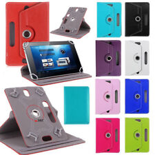 "Universal Leather 360° Stand Case Cover For 7"" 7 Inch Android  Tab Tablet PC"