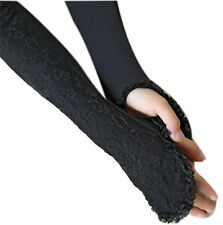 Opera Long Sexy Lace Fingerless Uv Protection Sun Block Gloves Sleeves St132