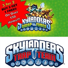 *3for2* SKYLANDERS *TRAP TEAM+SWAP FORCE FIGURES*+GIANTS+SPYRO'S *Buy2Get1 FREE*