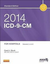 2014 Icd-9-Cm For Hospitals Volumes 1 2 And 3 by Carol Buck