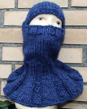 X-THICK Itchy sweater BALACLAVA 100% LOPI WOOL Schulterteil with shoulder part
