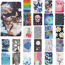 Cute Smart PU Leather Flip Cover Case Stand Shell Housing For Samsung Galaxy Tab