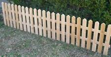 8 FT NEW ALL CEDAR WOOD FENCE DECORATIVE GARDEN FENCING NEARLY 3 FEET TALL