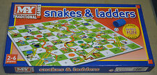 M.Y. Traditional Classic Board Games - Snakes & Ladders