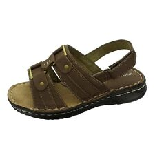 Women's Brown Nubuck Sandal by Pierre Dumas for a Great Low Price !
