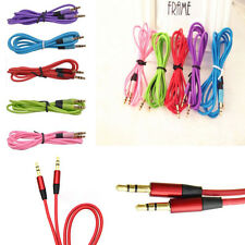 3.5mm AUX Extension Cable Cord Jack Male to Male Stereo Audio for iPhone iPod JU